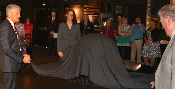 Awaiting the unveiling!