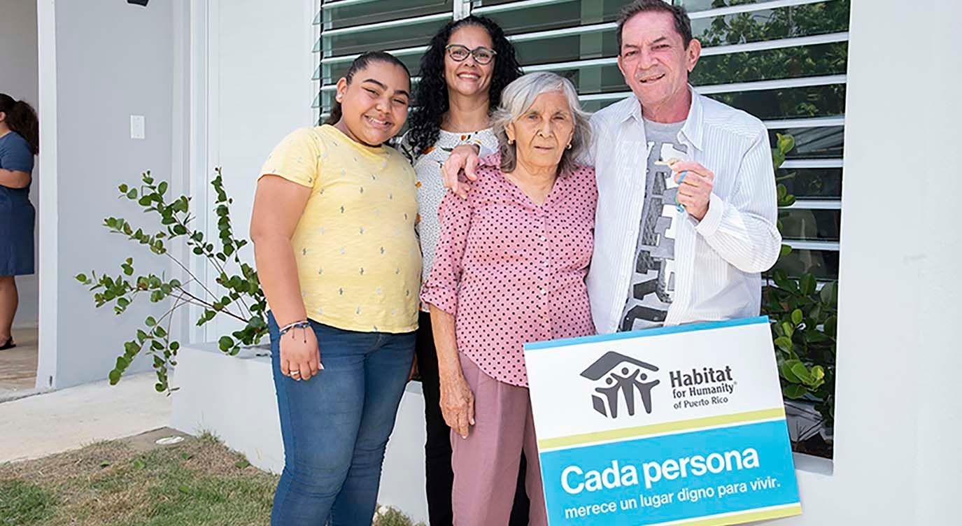 Cada familia merece un hogar digno donde vivir