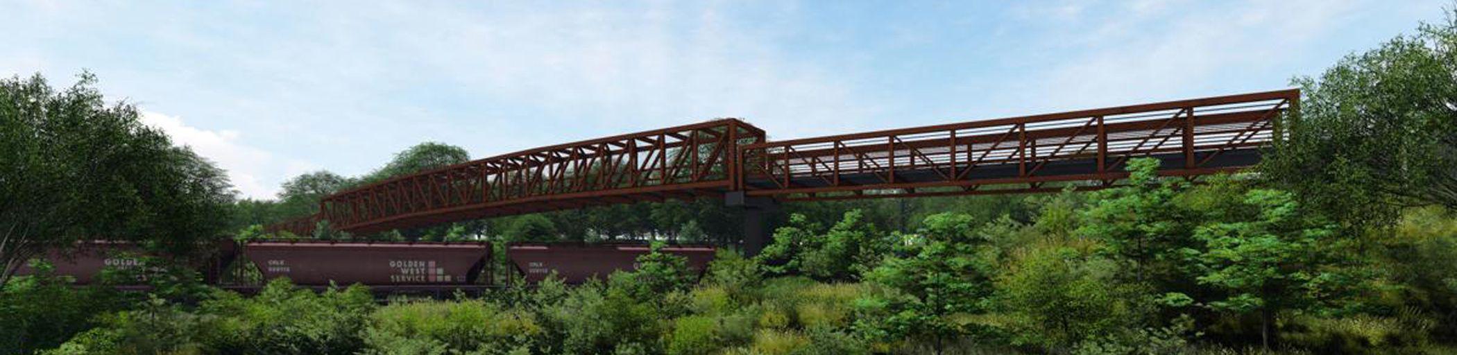 Trail Connector Bridge