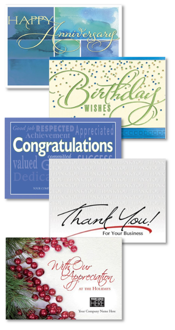 Various Designs of Greeting Cards