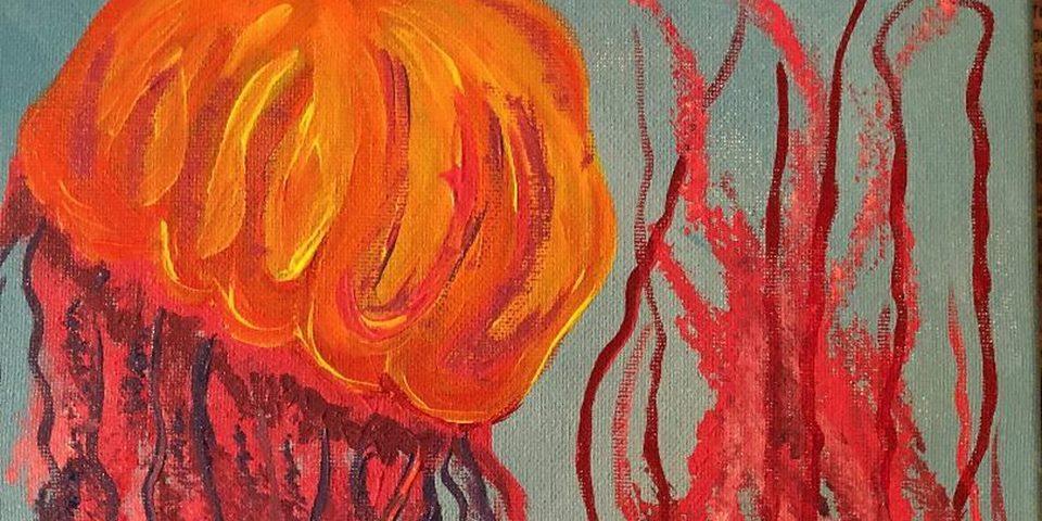 Jellyfish Paint Night