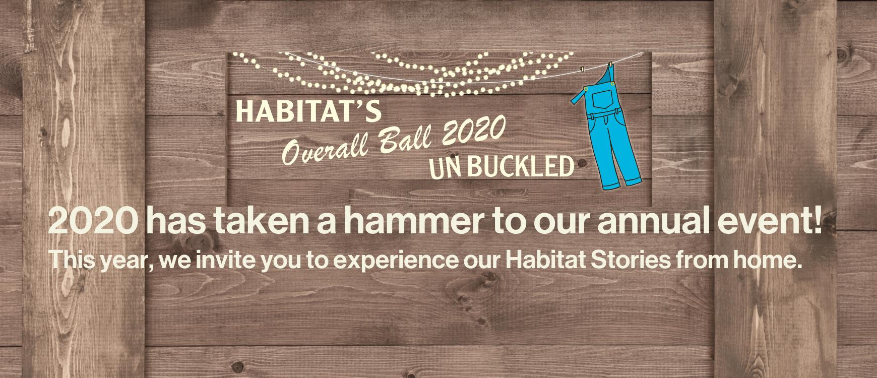 #Habitatnonevent2020