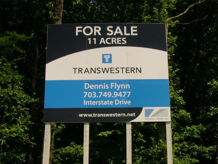 Transwestern Site Sign