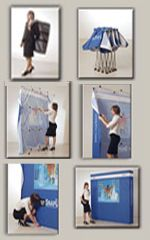 Exhibit Stretch Pop Up Displays