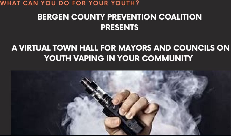 Vaping Town Hall for Mayors and Councils