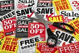 Coupons produced in Owings Mills, Maryland.