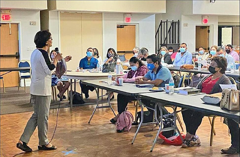 Hundreds attend formation training to become ministers of God's love