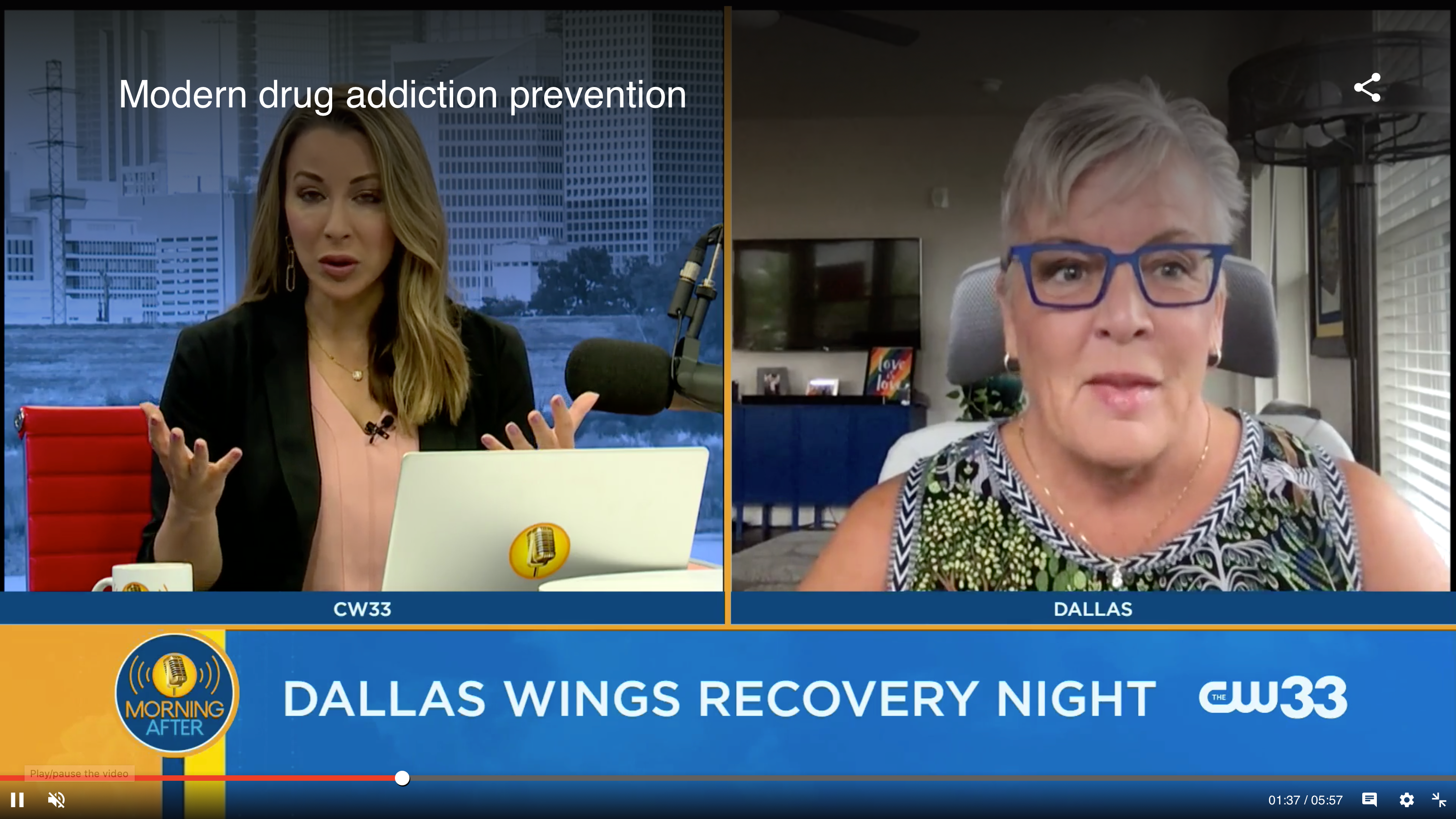 Drug Prevention Resources on CW33!