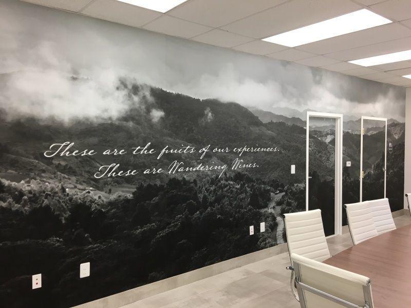 Wall Wraps Branding