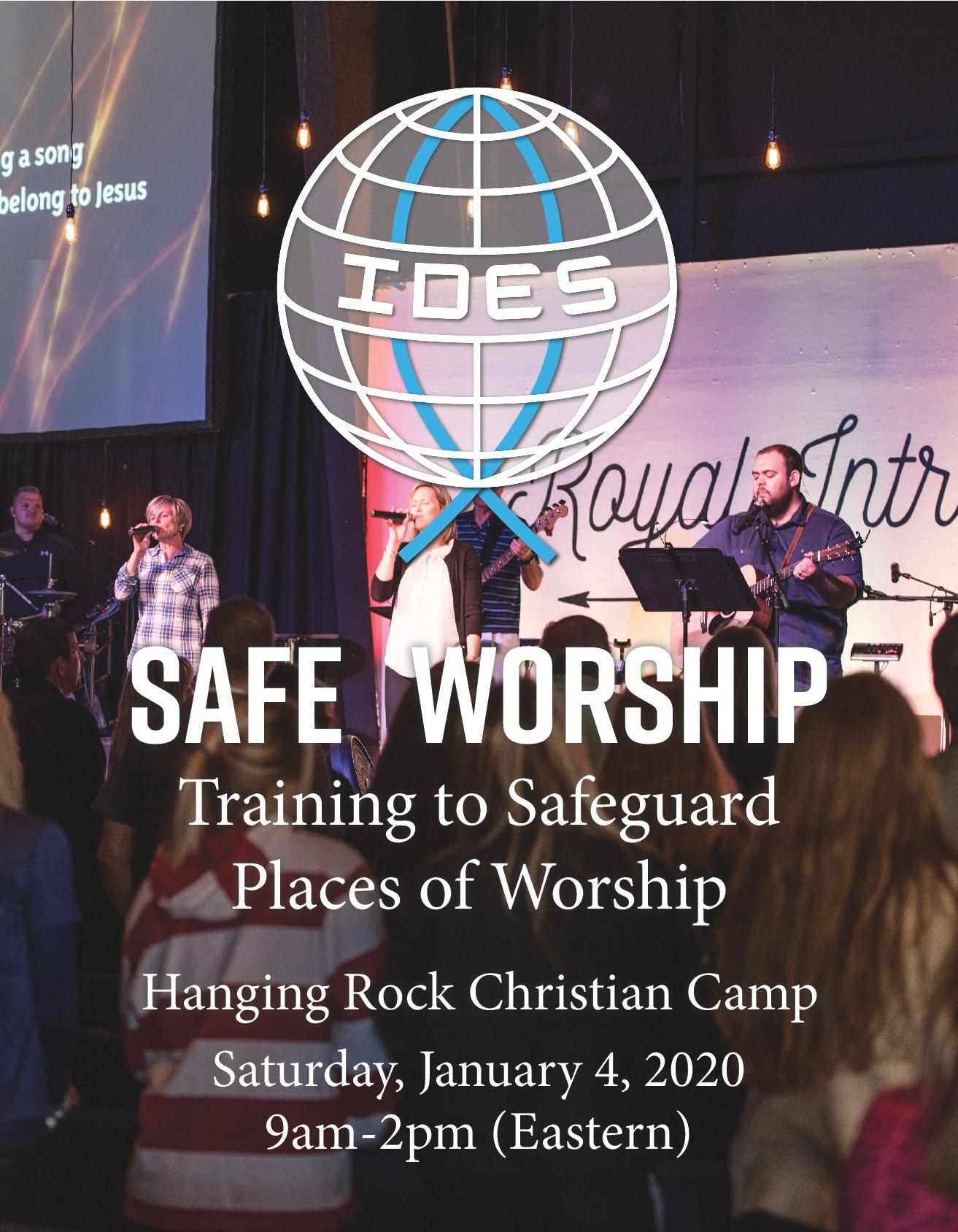 Safe Worship Workshop