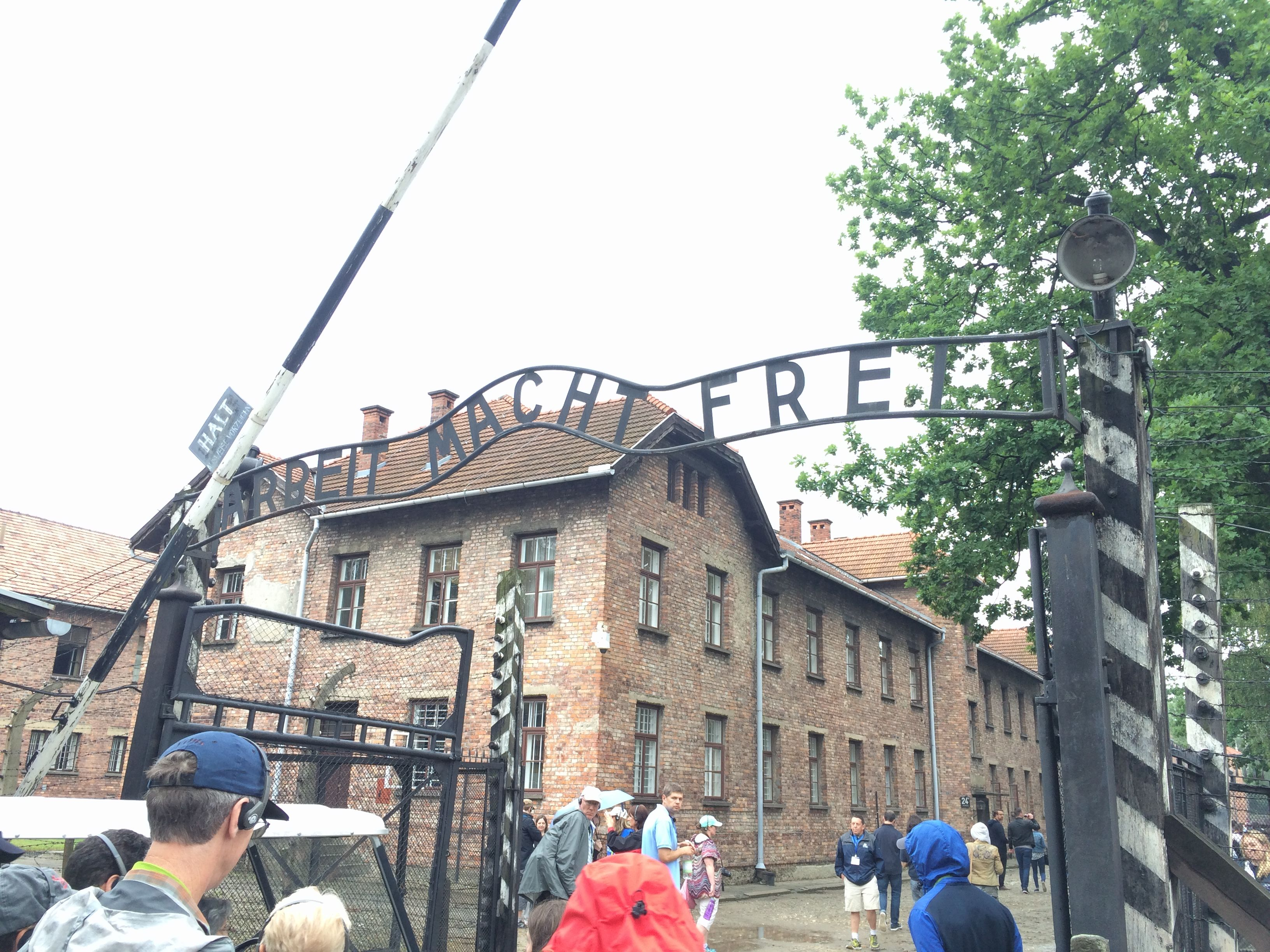 Entrance Gate to Auschwitz I