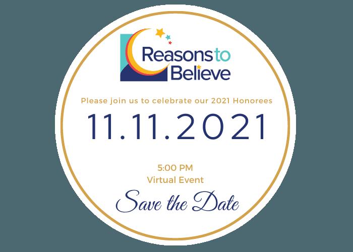 2021 Reasons to Believe Award Celebration