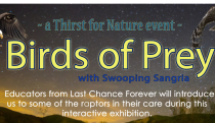 a Thirst for Nature event: