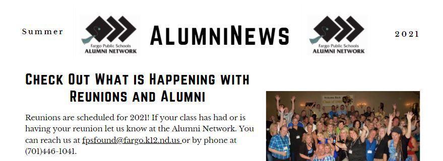 2021 Summer AlumniNews