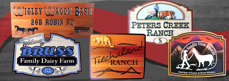 Ranch and Farm Signs