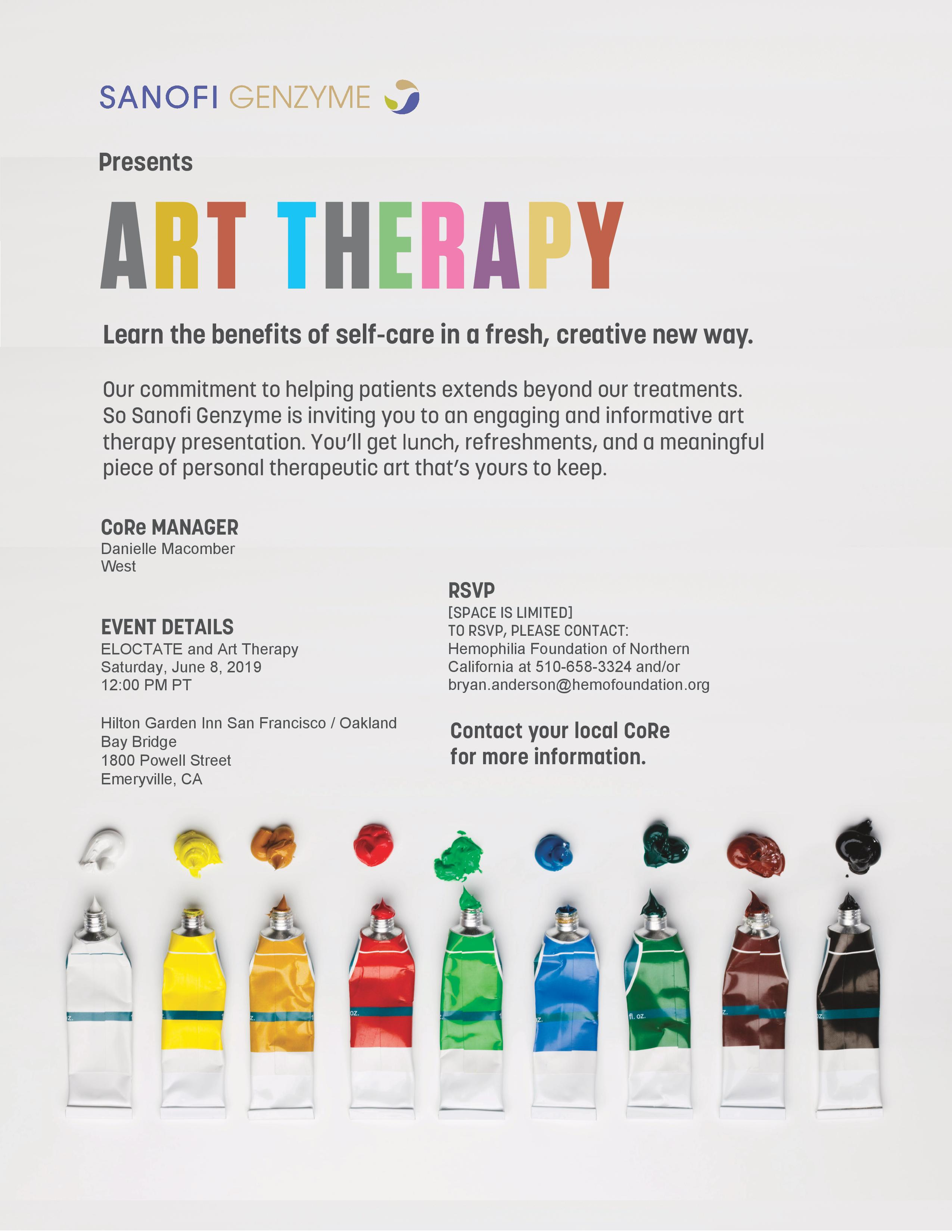 Eloctate + Art Therapy