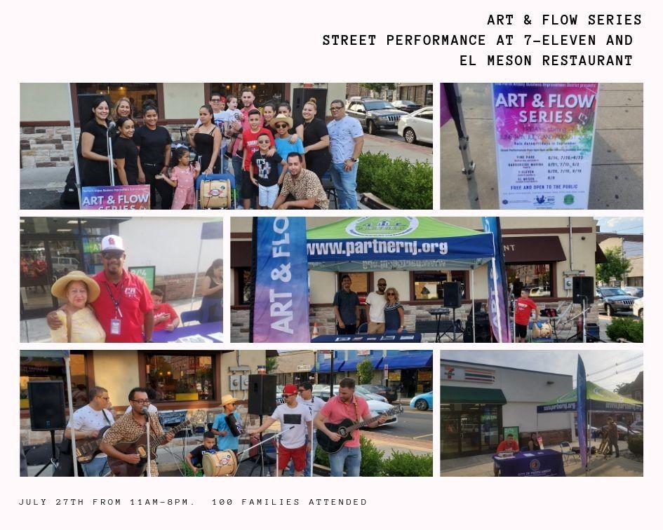 Art & Flow Street Performance Series- El Meson