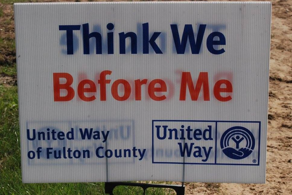 Thank you United Way