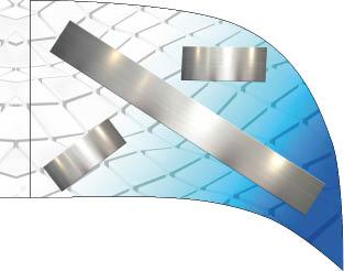 Metallic Geometric Blue Ombre