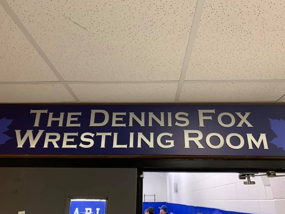 Wrestling Room Named in Honor of Dennis Fox