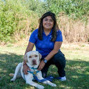 Lead Canine Educator Rosa