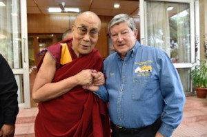 Tom Veevers and the Dali Lama