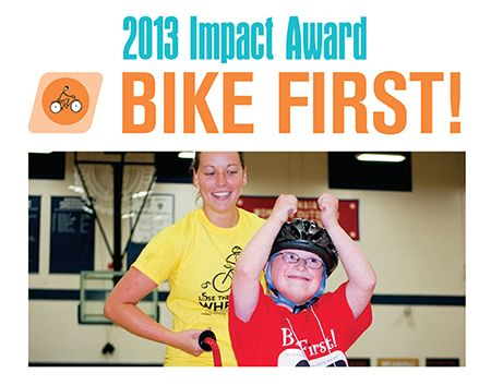 Bike First wins Impact Award