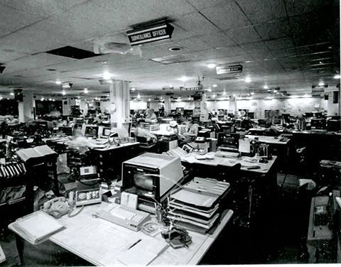 1973: Ribbon-cutting for National SIGINT Operations Center (NSOC)