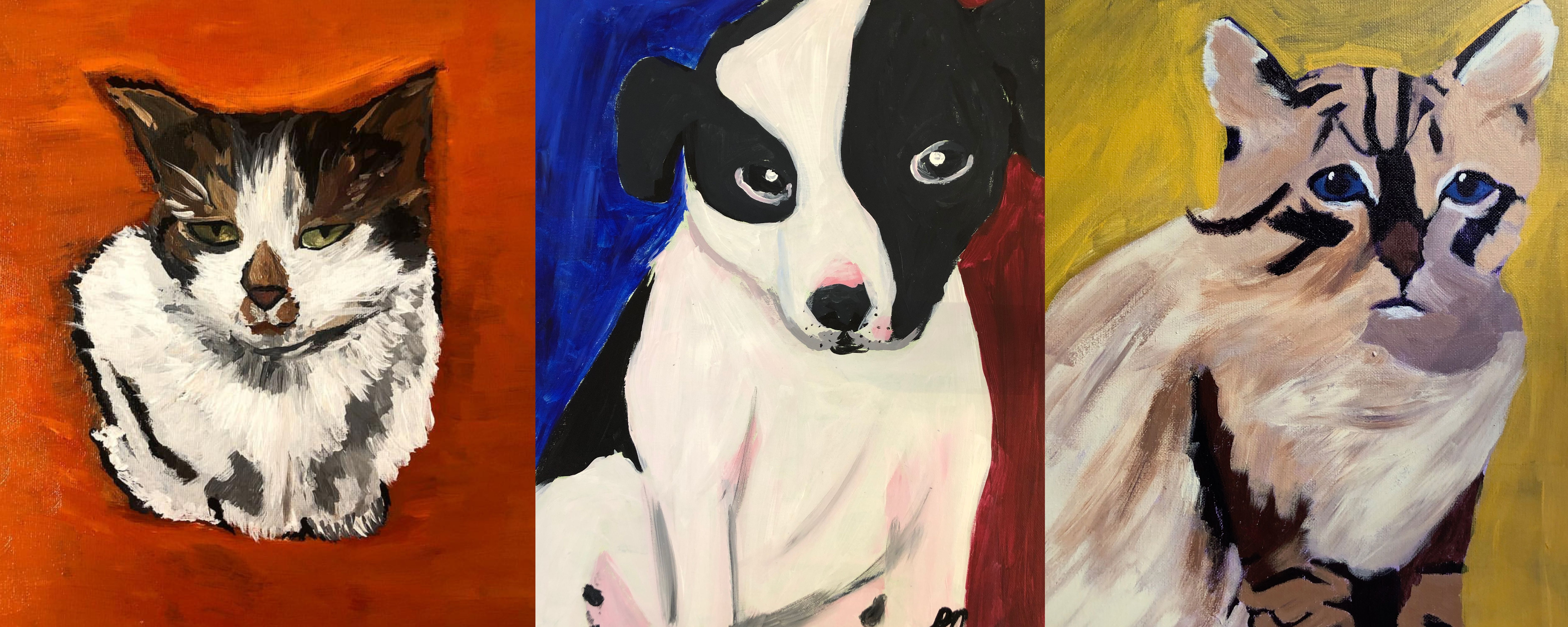 Holiday Class: Pet Portrait Painting