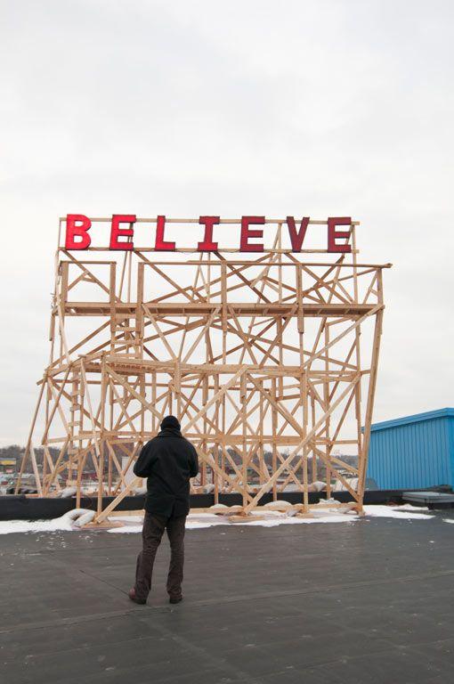 Jason Manleym, Suspending Belief (2012)