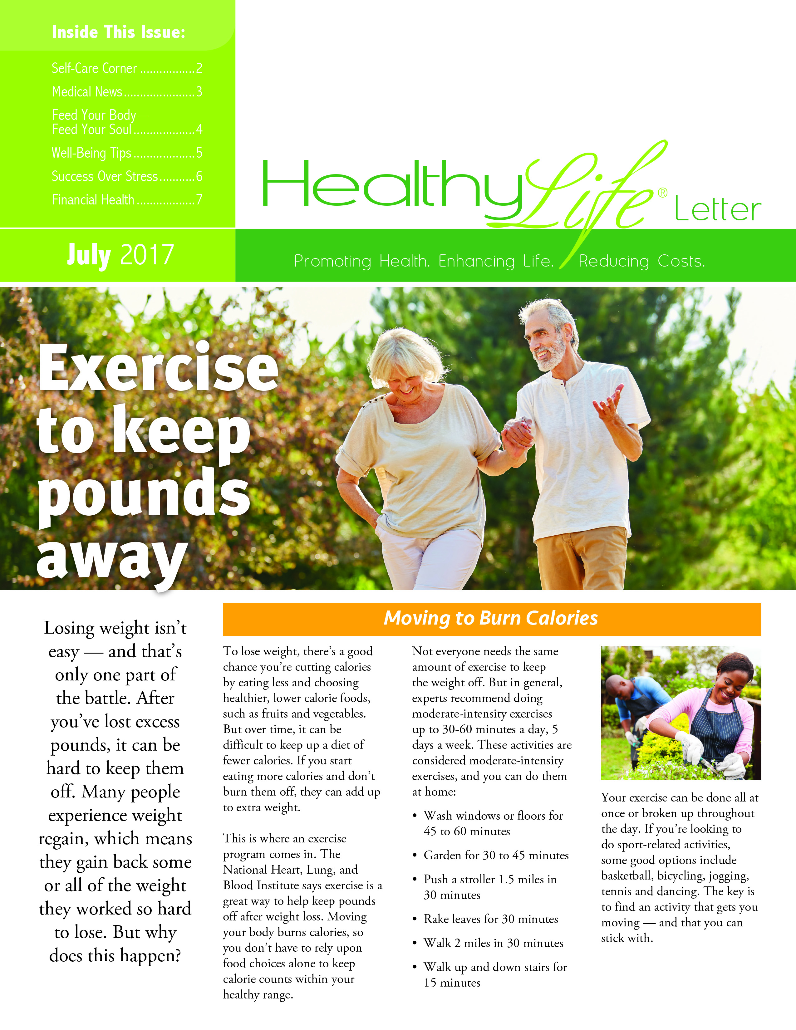 AIPM Healthy Life Newsletter (6-page)