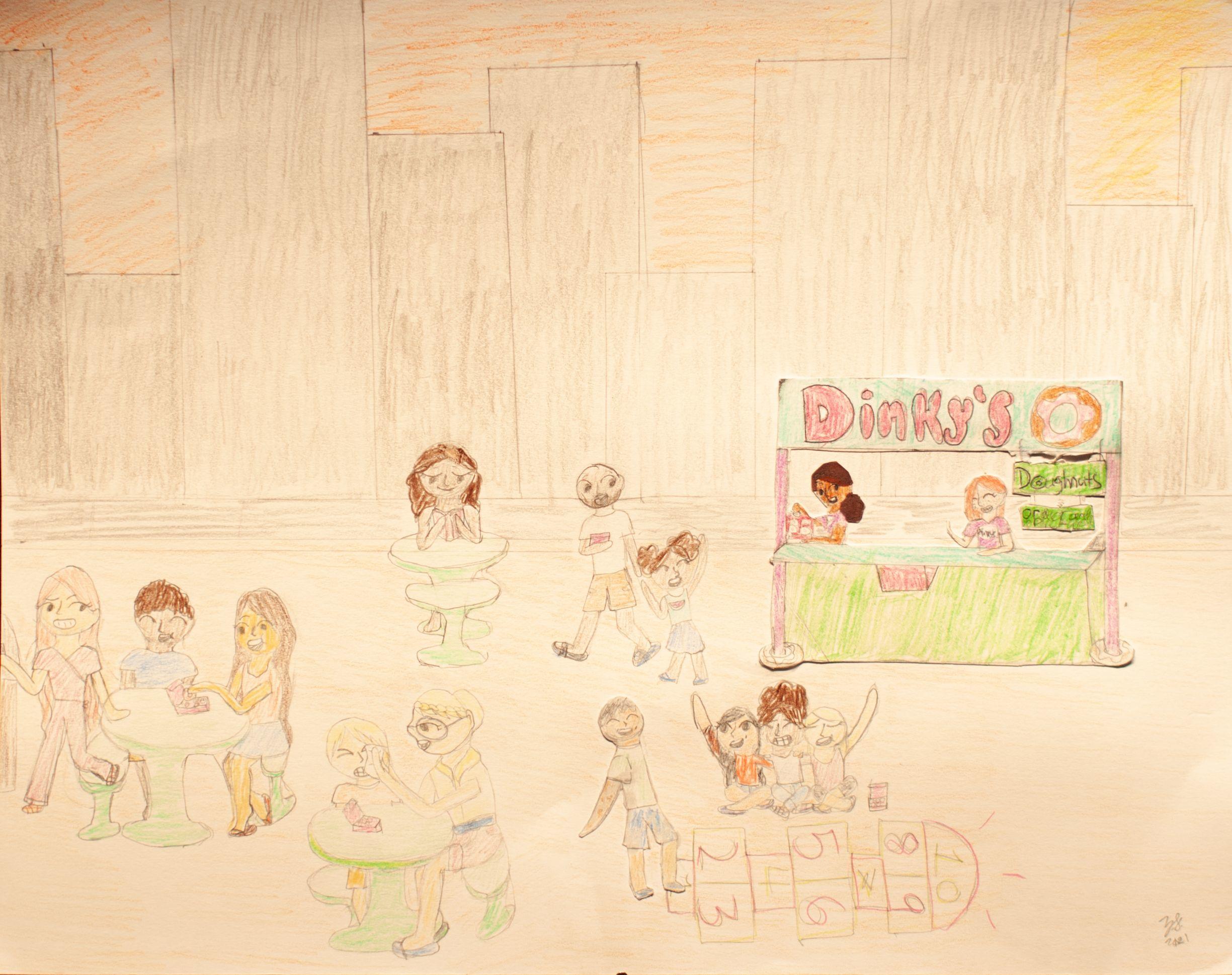 """A Day at Dinky's Donuts"" - Zeren Sebcioglu"