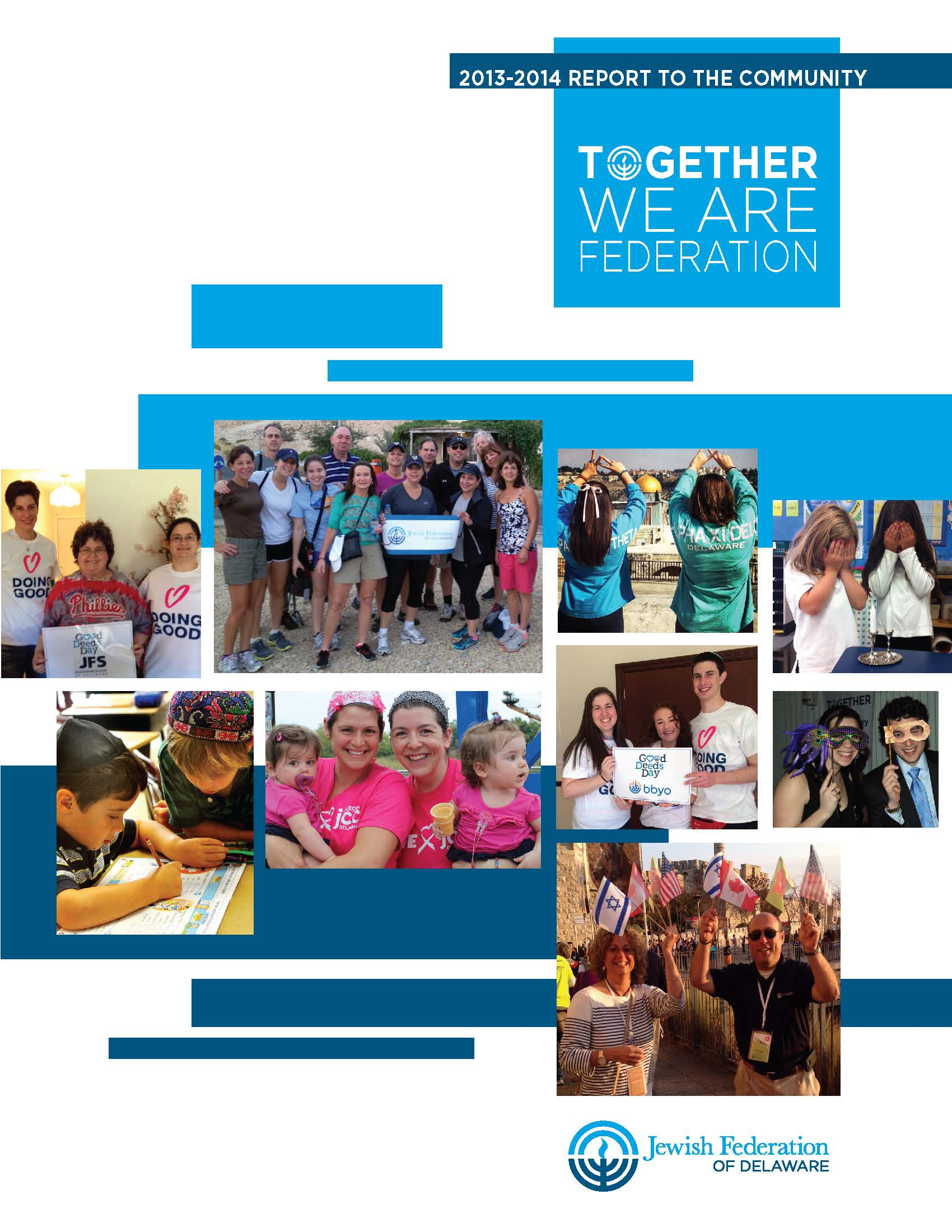 Click HERE to view the 2013-2014 Report to the Community