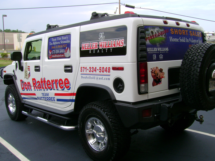 Keller Williams Truck Graphics