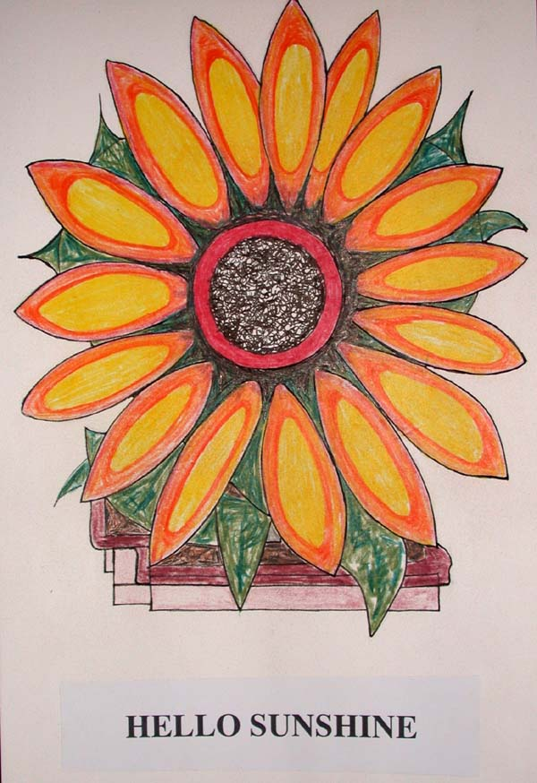 Hello Sunshine on paper