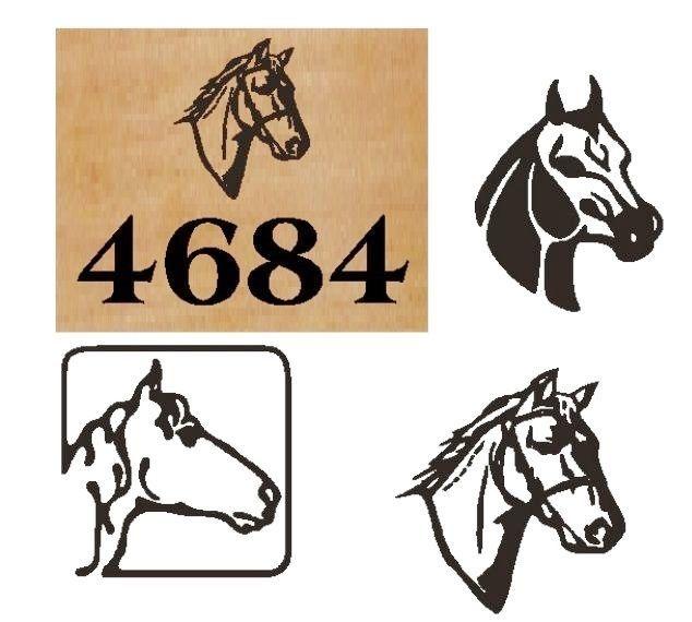 P25385 - Cedar Address Signs