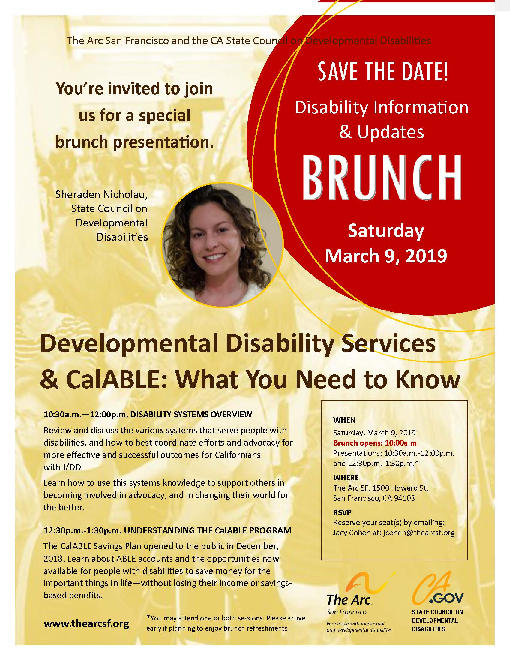 Disability Info & Updates BRUNCH