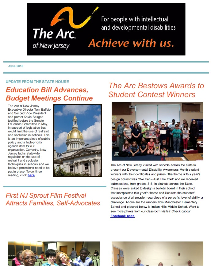 June E- Newsletter