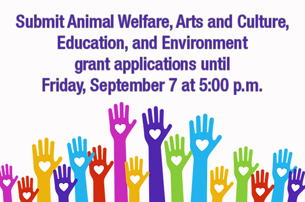 Now Accepting Community Needs Grant Applications