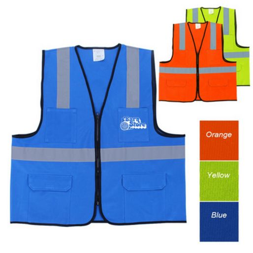 Branded safety vests by Branded4U powered by Strategic Factory