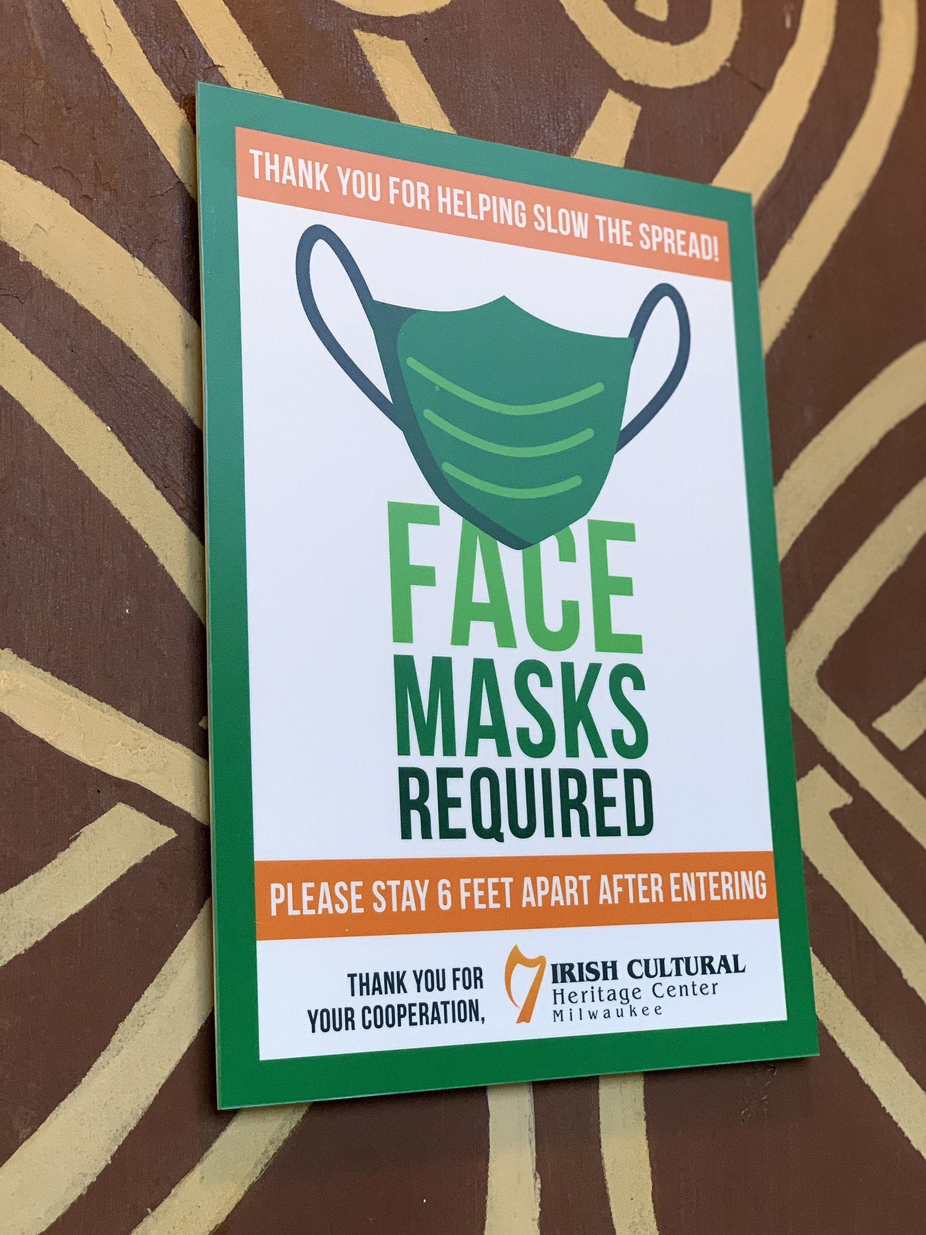ICHC Mask Required Sign