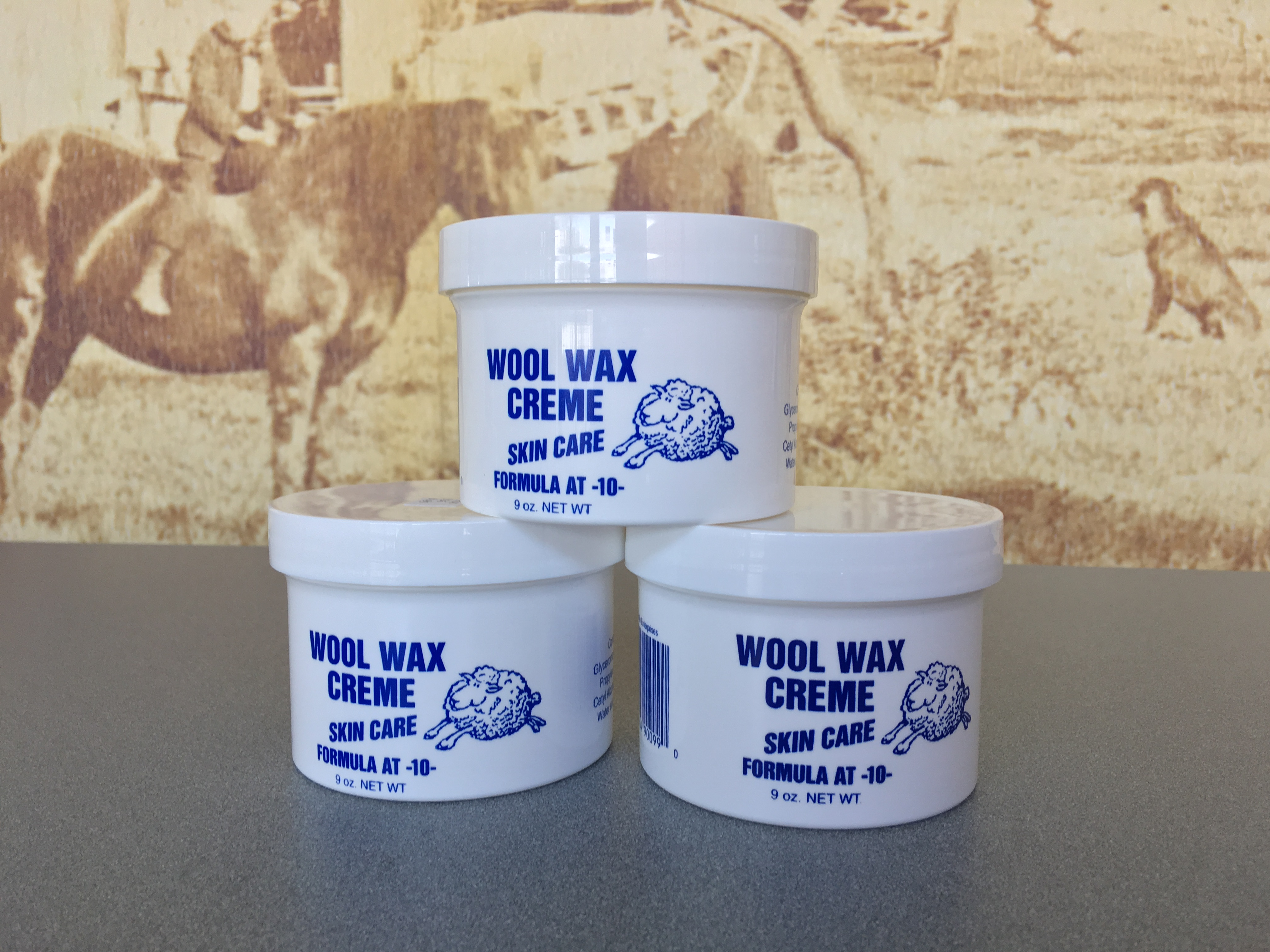 Wool Wax Creme - 9oz. Jar