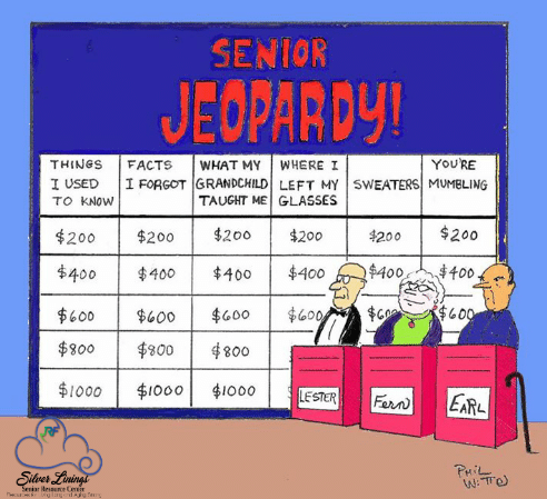 Senior Jeopardy