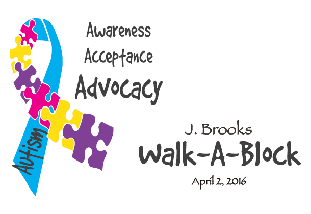 Registration open for J. Brooks Walk-A-Block for autism advocacy