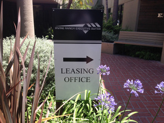 Orange County Leasing Office Signs