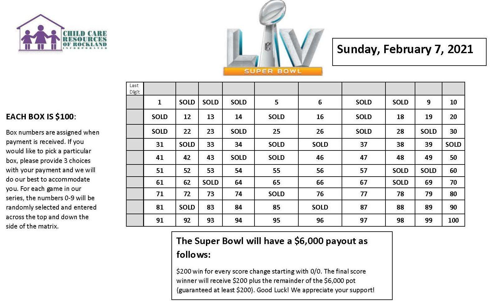 Super Bowl Fundraiser