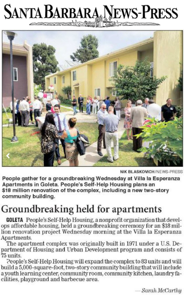 Groundbreaking held for apartments - Santa Barbara News-Press