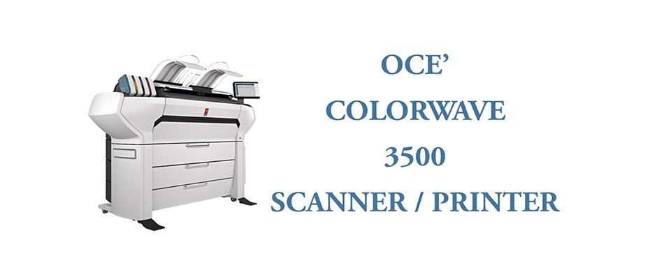 OCE' COLORWAVE 3500