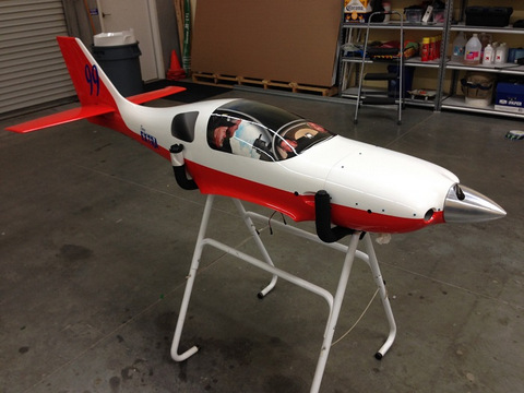 Remote control plane vinyl decals Orange County