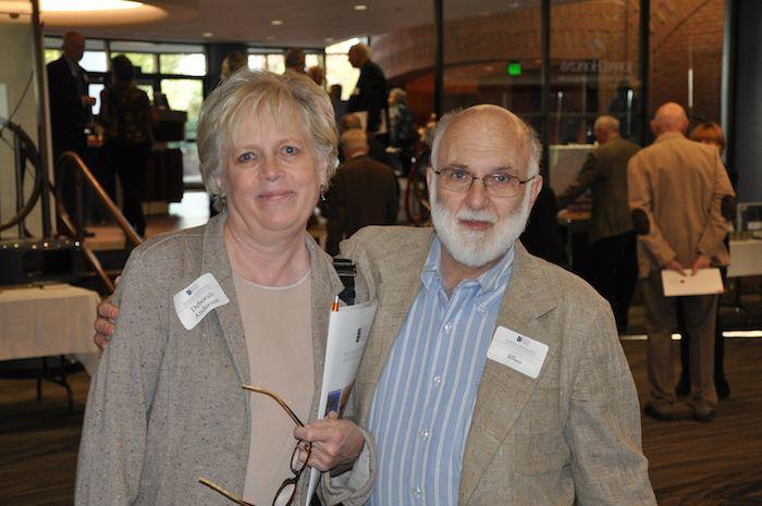 Debbie Anderson with Glen Miranker